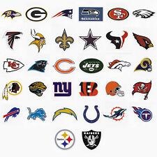 NFL Sticker / Aufkleber Set - 32 Sticker - American Football - Alle 32 NFL Teams