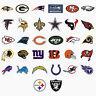 NFL Sticker / Aufkleber - American Football - Alle Teams - Patriots, Saints, etc