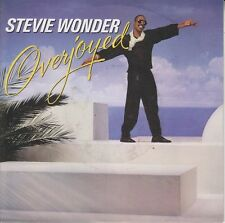 "Stevie Wonder ‎7"" Overjoyed - Europe"