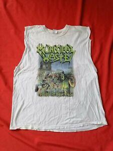 MUNICIPAL WASTE Shirt Größe XL - Thrash Metal - weiß