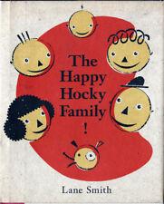 Lane Smith HAPPY HOCKY FAMILY! 1st Printing 1993 HC/DJ