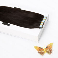 Double drawn blonde weft tape in Remy human hair extensions 16-26Inch Full Head