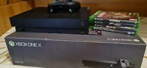 Console Microsoft Xbox One X 1TB  +4 giochi
