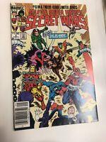 Secret Wars (1984) # 5 (NM) Zeck Movie Disney Canadian Price Variant CPV