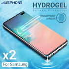 Hydrogel Screen Protector For Samsung Galaxy S21 S20 S10 S9 Ultra Plus Note 20