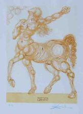 """Salvador Dali """"The Centaur"""" Original Wood Engravings S/N"""