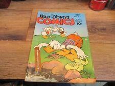 WALT DISNEY'S COMICS AND STORIES vol 5 #9- June 1945-DONALD DUCK k k publication
