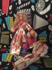 Bloody Bride And Decapitated Groom Custom Horror Dolls Wedding Set Ooak