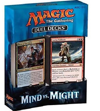 Magic the Gathering MTG - Mind vs Might Factory Sealed Duel Deck in stock