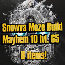 PS4/XBOX/PC - Snowva Moze Build Mayhem 10 lvl.65 - 8 Items