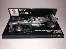 Minichamps F1 Mercedes AMG Petronas Motorsport W04 Nico Rosberg 1/43 USA GP 2013