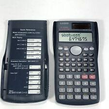 Casio Fx-300Ms Scientific Calculator Solar Power 2-way Power - Working