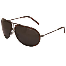 Carrera - bronce y Carey Gafas de sol Aviator WITH CASE