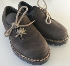 Used Girls Konigssee Brown Shoes. Size Eur 33. US 2.