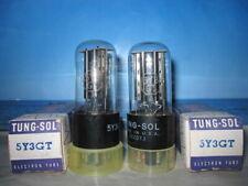 5Y3GT TUNGS-SOL # Matched Pair # NOS NIB (2033)
