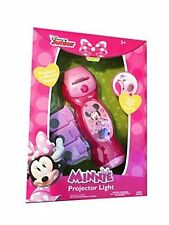 Disney Mickey Mouse and Friends Minnie Projector flashlight with Pictures / NEW