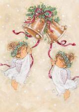 HEART OF KENT HOSPICE CHARITY CHRISTMAS CARDS : CHURCHBELLS RINGING 10 PK