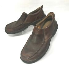 Timberland Smart Brown Leather Casual Loafer Slip On Mens Size 11 M 54583 (sh74)