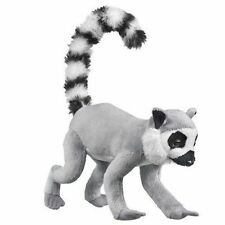 "8"" Ring Tailed Lemur Plush Stuffed Animal Toy"