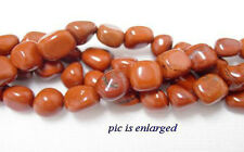 Semi Precious Red Jasper Nugget Beads