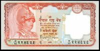 2002 ND NEPAL 20 RUPEES BANKNOTE * UNC * P-47 *
