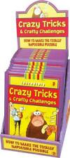 CRAZY TRICKS AND CRAFTY CHALLENGES HARD BACK BOOK FUN!! FREE P&P