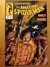 Michael Mike Zeck SIGNED Comic Art Print Amazing Spider-Man #294 Kraven Part 5
