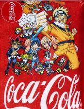 Weekly Shonen JUMP x Coca-Cola Towel Naruto Dragon Ball One Piece Haikyu!!