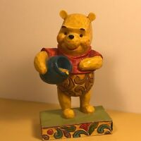 JIM SHORE WINNIE POOH FIGURINE HUNNY HONEY OF A BEAR ENESCO WALT DISNEY SHOWCASE