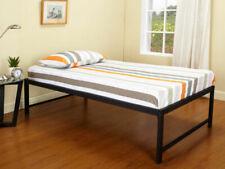 Kings Brand Furniture - Black Metal Twin Size Platform Daybed Bed Frame