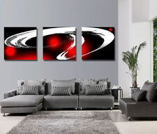 HD Canvas Print Home Decoration Wall Art Painting Picture Abstract Red line 3pcs