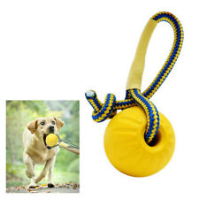 1pc Indestructible Solid EVA Ball with String Pet Dog Training Chew Ball Toy