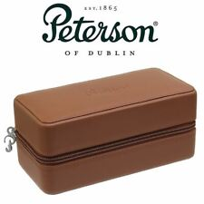 More details for peterson - grafton - brown hardshell case with pipe bag