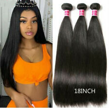 Brazilian Straight Hair Human Hair Weave Bundle Extension Remy 3Pcs Hair Bundles