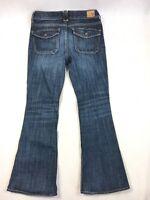 American Eagle AEO Hi-Rise Artist Stretch Denim Blue Jeans - Women's Size 6