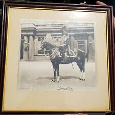 1937 Royal King George VI Original signed on the Horse 🐎