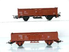LIMA H0 2 piezas 2 ejes Vagón borde alto l4460 100 der FS Italia, Marrón