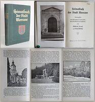 Krause -Heimatbuch der Stadt Meerane um 1930 -Geschichte, Ortskunde, Sachsen -xz