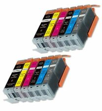 12-Pack 12Pk PGI-270XL CLI-271XL with Gray Ink For Canon PIXMA MG7720 TS8020