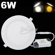 6W LED Ceiling Recessed Panel Light Down Lamp Fixture Downlight Epistar