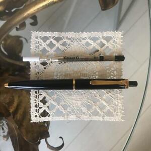 Pelikan ballpoint pen Suberene black color gold clip knock type KH0869