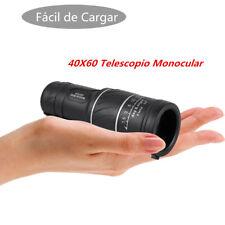 40x60 Mini Teleobjetivo Monocular Telescopio Alta Expansión Astronómico Terestre