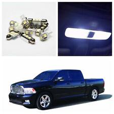 5x LED White Interior Lights Bulbs Kit Fit Cars 2010-2012 Dodge RAM 1500 2500 US