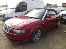 2003 AUDI A4 SPORT CABRIOLET DAMAGED REPAIRABLE SALVAGE