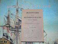 Doursther,H.: Dictionnaire Des Poids Et Mesures Anciens Et Modernes