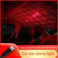 USB Car Interior Atmosphere Starry Sky Lamp Ambient Stars Lights LED Projectors