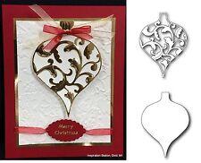 Christmas Ornament BUNDLE die set Elliana & Drop Memory Box metal cutting Dies