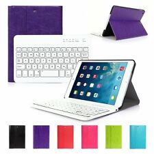 Custodia Con Tastiera Bluetooth Per iPad Mini 2 3 Layout tastiera Italiana Nuovo