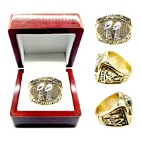 2020 Tampa Bay Buccaneers #BRADY MVP Championship Ring Gold Plated Size 8-13 New