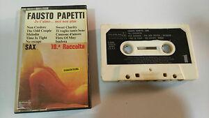 Fausto Papetti Sax 1978 Ruban Cassette Espagnol Edit Paper Labels